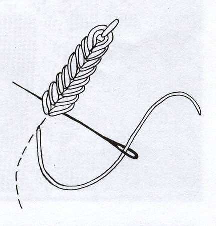 heavy-chain-stitch-drawing