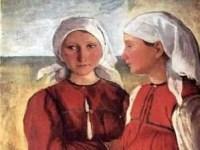 two-peasant-lasses-1915
