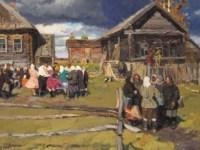 Festival of Pokrov, Andreikovo village 1957